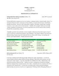 recruiter resume exle recruiter resume templates resume sle
