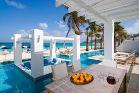 St Martin Map Villa Nautilus At Coral Beach Club St Martin Villa Rental