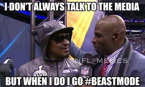 Marshawn Lynch Memes - nfl memes on twitter marshawn lynch gives a beast mode interview