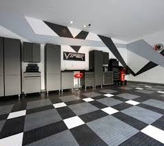 abstract painting garage walls black and grey garage pinterest