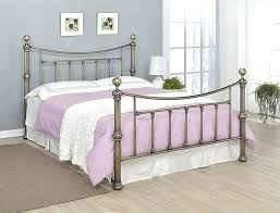 King Size Metal Bed Frames For Sale Antique Metal Bed Antique Brass Bed Frame Or King Size