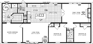 4 Bedroom 2 Bath Mobile Homes Large Manufactured Homes Large Home Floor Plans