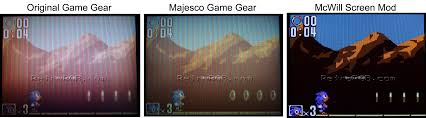 game gear backlight mod retrorgb game gear lcd replacement