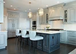 Kitchen Cabinet Designs 2014 by Distressed Gray Kitchen Cabinets Transitional Kitchen Donna