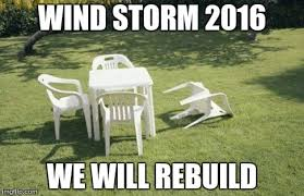 Wind Meme - we will rebuild meme imgflip