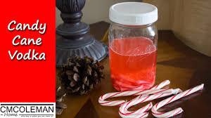 how to make candy cane vodka youtube
