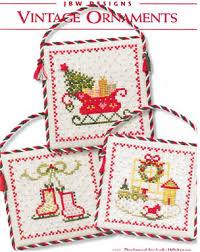 jbw designs vintage ornaments cross stitch pattern 123stitch