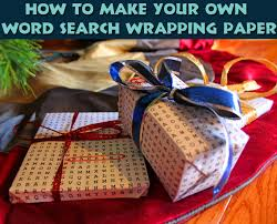 wrap wrapping paper how to make word search gift wrap grasping for objectivity