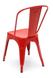 chaise a chaise empilable a acier brut pour l intérieur acier brut verni