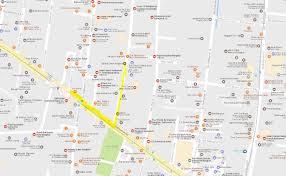 Bangkok Map Zahara Hair Salon Sukhumvit Bangkok Nana Zahara Hair Salon Bangkok