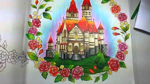 livro de colorir romantic country 1 coloring book romantic