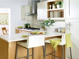 Decorating Ideas For Small Kitchens by Small Kitchen Breakfast Bar Boncville Com