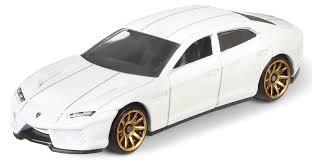 lamborghini estoque white wheels sports car lamborghini estoque white 7 cm toys