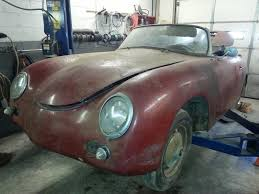 2011 porsche speedster for sale unrestored runner 1959 porsche 356 a convertible d project