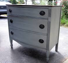 Paint Wood Furniture by Uniquely Chic Furniture I Love Blue Gray Paint