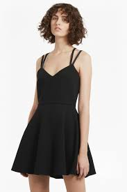 whisper light strappy dress dresses french connection usa