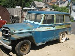 jeep station wagon for sale 1961 jeep station wagon running project clean pa title 2 wheel