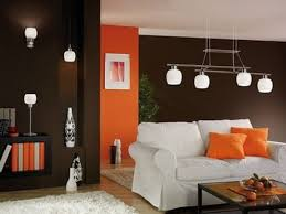 beautiful home decor at living room with brown and red wall 5693 beautiful home decor at living room with brown and red wall