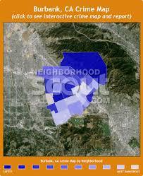 map of burbank ca burbank ca crime rates and statistics neighborhoodscout