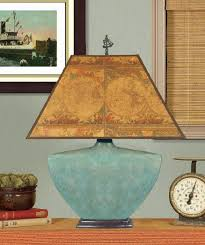 Turquoise Table Lamp Mottled Turquoise Ceramic Table Lamp Interiordecorating