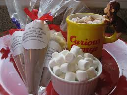 hot chocolate gift basket hot cocoa mix saucy