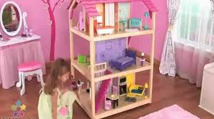 Dollhouse Toddler Bed Kidkraft Sleigh Toddler Bed White Video Dailymotion