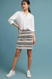 sequin skirt striped sequin skirt anthropologie