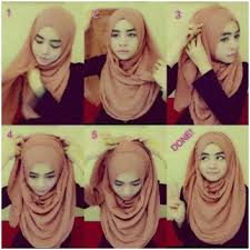 tutorial hijab pashmina untuk anak sekolah 8 cara memakai jilbab rawis simple dan kekinian hijabyuk com