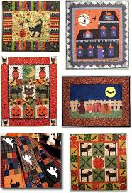 Fabric Halloween by 82 Best Halloween Quilt Images On Pinterest Halloween Quilts