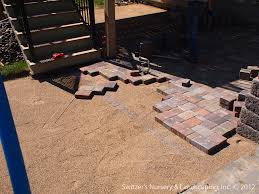 Paver Patio With Retaining Wall by Paver Patio Under Deck With Retaining Wall U0026 Steps Flickr