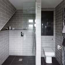 Tiny Shower Stall by Bathroom Fascinating Design In Slate Tile Wall And White Toilet