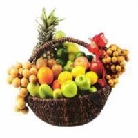 new years basket fruit basket
