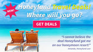 Wedding Fund Websites Free Honeymoon Gift List By Honeyfund The 1 Cash Wedding Gift