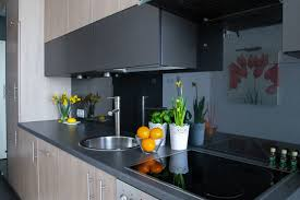 free picture stove kitchen home interior room house modern