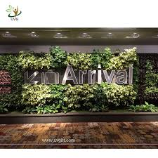wedding backdrop green uvg grw033 wedding stage backdrop decoration with green plant