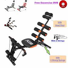 abs rocket chair abdominal fitness multi 6 gym trainer exerciser