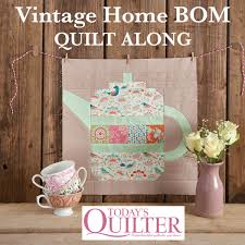 home decor sewing blogs verykerryberry vintage home bom quilt along info