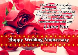 Happy Wedding Anniversary Quotes Wishes Minimalist Wedding Anniversary Wishes For Wife With Happy Wedding
