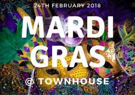 big mardi gras mardi gras big party 24th feb townhouse townhouse