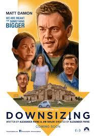 downsizing movie downsizing alternative movie poster by colin murdoch