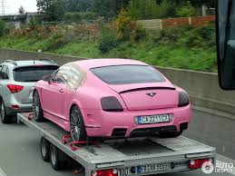 pink bentley bentley mansory continental vitesse rosé 5 january 2015 autogespot
