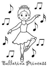 Image Result For Ballerina Coloring Pages Imagenes Para Galletas Ballerina Printable Coloring Pages