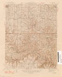 Missouri State Map by