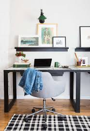 Masculine Home Office by Using Art Ledges Instead Of Putting Up A Gallery Wall Art Wall