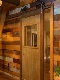 how to build a sliding barn door diy barn door how tos diy mount the track