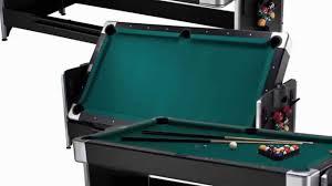 atomic 2 in 1 flip table 7 feet best price best buy fat cat 7 foot black pockey combination table