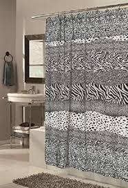 safari style bathroom with leopard print accents design