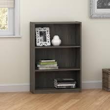 Bookshelf 3 Shelf Altra Furniture Core Rodeo Oak Open Bookcase 9424213pcom The
