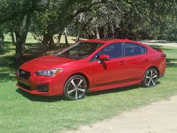 subaru impreza wheels 2017 subaru impreza sport now built in the u s rocks in