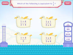 equivalent fractions worksheets fourth grade math